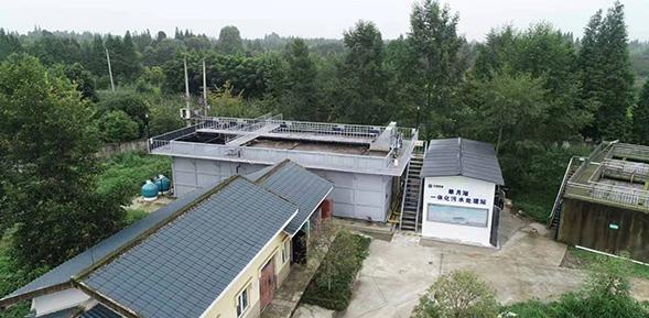 翠月湖一体化污水处理站